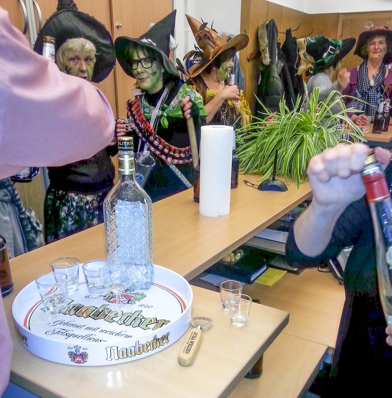 Brauerei von Vilshoferener Hexen gestürmt !