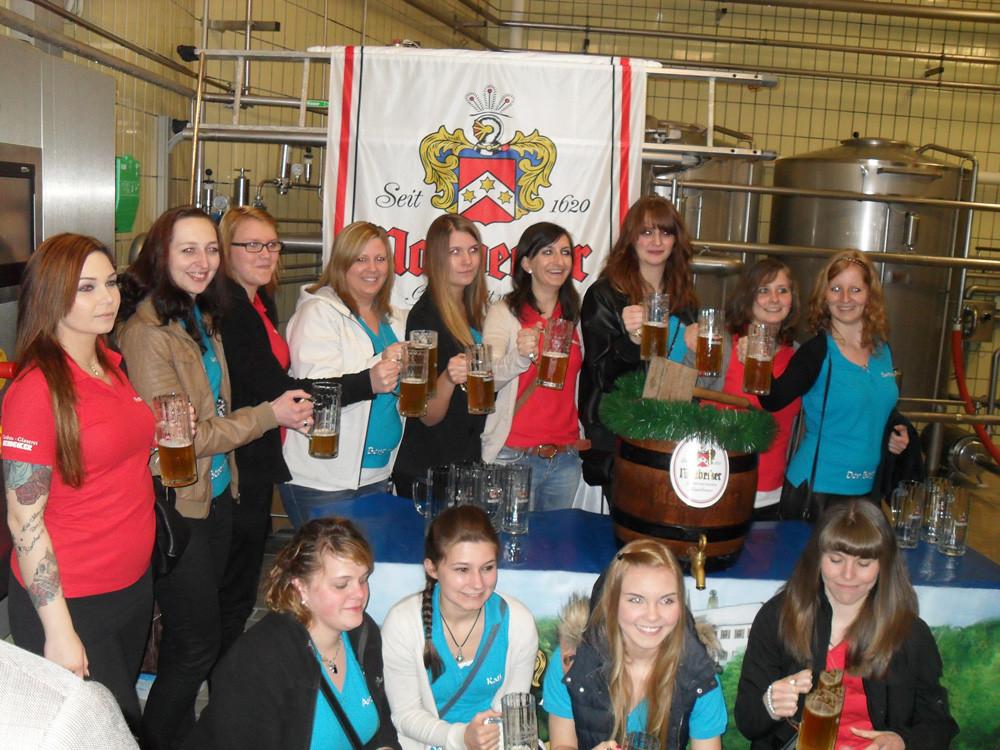 Das 125-jährige der FFW Pittersberg kann steigen - Bier für sehr gut befunden !