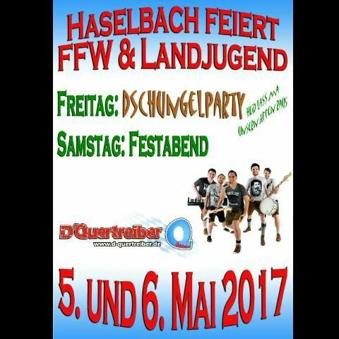 Bierprobe der FFW und katholischen Landjugend Haselbach