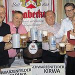 Süffiges Bier zur Ägidius-Kirchweih
