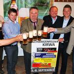Erfolgreiche Bierprobe für die Kirwa Schwarzenfeld