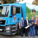 Naabecker stellt neuen LKW in Dienst