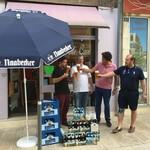 Oberbürgermeister Feller präsentiert KMK in Liboure