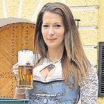 Sarah Jäger will Bierkönigin werden