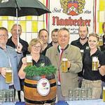 Ab Freitag den 20.7. wird 50 Jahre SV Haselbach gefeiert. Bierprobe war voller Erfolg.