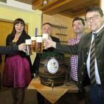 Bierprobe zum Wackersdorfer Volksfest