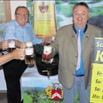 Hopfensorte Herkules verfeinert Kirwa-Bier