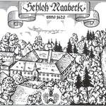 Groß verändert hat sich die Ansicht des Schlosses in den vergangenen vier Jahrhunderten nicht. Die Radierung stammt aus dem Jahr 1620. Damals erwarb eine Elsbeth von Taufkirchen das Braurecht zu Naabeck.